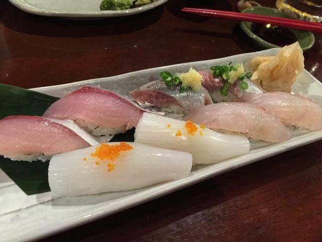 桜木町活魚センター - 握り