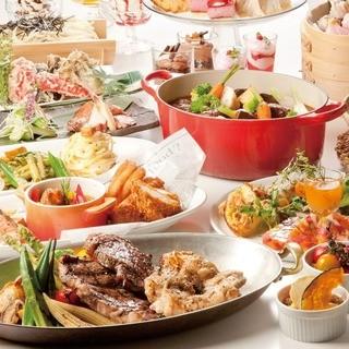 食べ放題メニュー「海辺のリゾート」