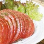 食楽部屋みなみ - トマトオニオンサラダ
