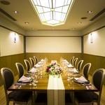 レストラン アンソレイユ - 6~14名でご利用いただける個室