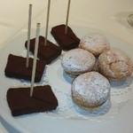 レストラン ペルージュ - 生チョコとマカロン