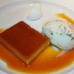 レストラン ペルージュ - プティングとナッツのアイス