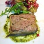 レストラン ペルージュ - 野ウサギとフォアグラのパテ