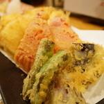 40549398 - 野菜天ぷら盛合せ(700円)