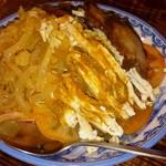 しま屋 - 前菜3種盛り 特上くらげ&チャーシュー&バンバンジー