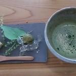 Oomurokeishokudou - お抹茶とデザートプレート