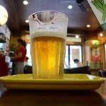 フレッシュネスバーガー - でかい方のビール