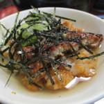 ひつまぶし 備長 - 茶漬けの出汁は超薄味で鰻とたれ、米の味を生かしている