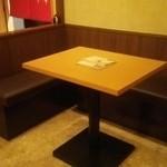 Ban座 - テーブル