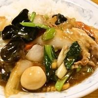 食事処 志野 - 人気の中華丼