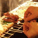 串たつ - 備長炭で焼き上げる串焼き