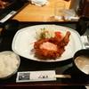 八勝亭オリエント  - 料理写真:チキン南蛮900円、ライス150円、味噌汁100円(税別)