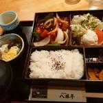 八勝亭オリエント  - 中華(酢豚)定食1100円(税別)
