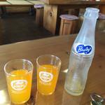 湖畔亭 - オレンジジュース