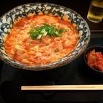 40565124 - 旨辛たまご麺♪