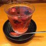 韓国料理 水刺齋 - 石榴ソーダゼリー