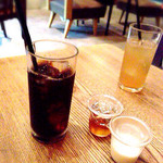40567521 - アイスコーヒー(シロップとミルク)