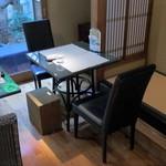 丸久小山園 - 喫茶スペース