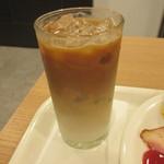 ベックスコーヒーショップ - アイスカフェラテ