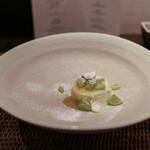 かわ村 - 2015.08再訪 握リゾットコース dolce: フロマージュブランのパンナコッタ☆