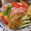なごみや - 料理写真:冷やし中華はじめました!ランチに人気です♪(スイカは付いていないこともあります…)