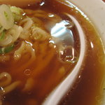 麺や 河野 - スープ