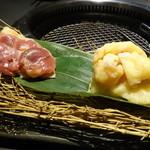 SANTORI 難波本店 - ☆鶏…特選&トロ皮(#^.^#)☆