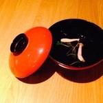 日本酒処参壱丸撰 - お吸い物