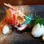 鮨みやもと - おまかせコースの焼き物