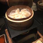 40573049 - 鶏蒸し餃子350円(税別)