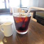 カフェ サバド - アイスコーヒー(ランチセット)2015.08.04