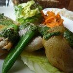 大麦小麦 - ランチ タップリ野菜とお魚のプレート