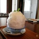 日本茶カフェ一日 - モヒートかき氷
