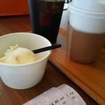 純喫茶PEARL - バニラアイス