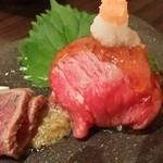 40594557 - コールビーフ&手鞠寿司
