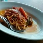 40595447 - 志賀島野菜とトマトソースのスパゲッティーニ