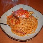 かんてらや - 渡り蟹のトマトパスタ