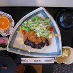 福禄寿 - 味噌カツランチ