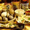 シジミ屋 - 料理写真:様々な種類の貝や貝料理。お伴にはぜひ日本酒で。