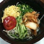 4060279 - 『たはらうどん』(出前) キムチ冷麺550円
