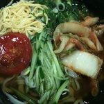 4060280 - 『たはらうどん』(出前) キムチ冷麺550円