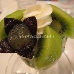 フルーツパーラーフクナガ - 大好きキウイパフェ