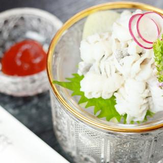 五感で堪能する日本料理