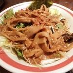 熊祥 - 限定の夏麺にメンマ