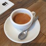 ゼロハチコーヒー - エスプレッソダブル370円