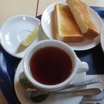 マリブコーヒー - トースト、レモンティーS