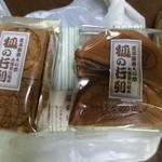 石鍋商店 - キツネの行列煎餅2種