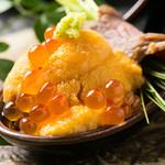 和神 - 料理写真:ワンスプーン 和牛とウニ、いくら、芽ねぎ 680円