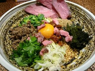自家製麺 MENSHO TOKYO - まぜひつじ