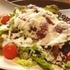 牛肉の生ハムシーザーサラダ